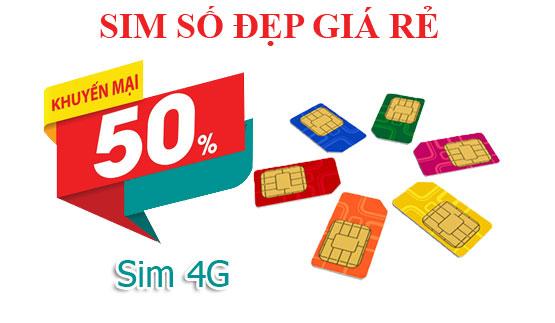 Sim số đẹp 4G vào mạng